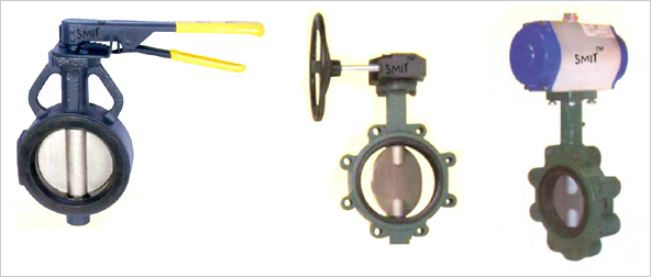 Butterfly Valves Manufacturers in India